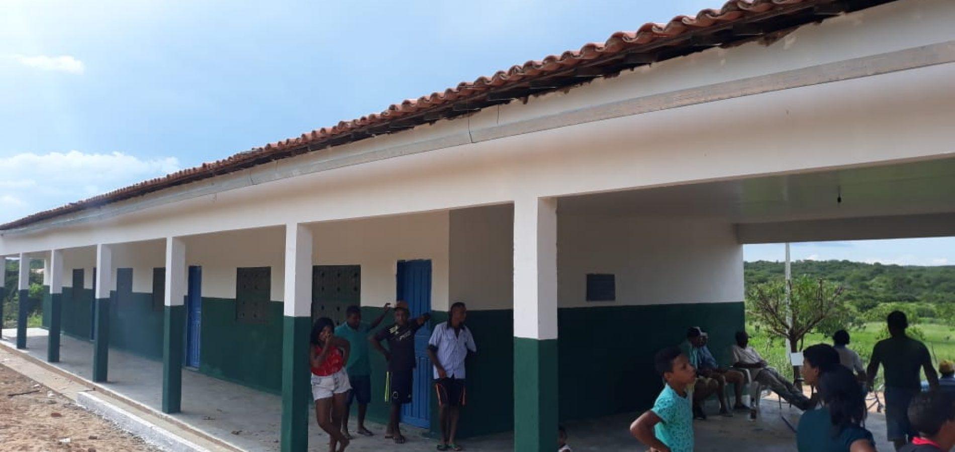 Prefeitura de Jaicós investe na melhoria das escolas municipais com reformas e climatização