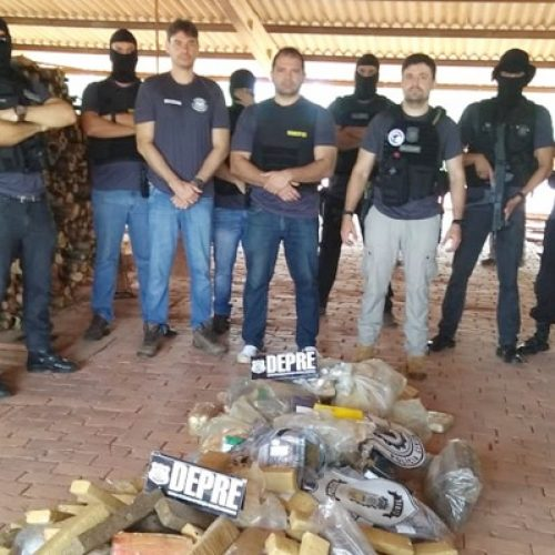 Polícia incinera cerca de 200 kg de drogas apreendidas em operações no Piauí