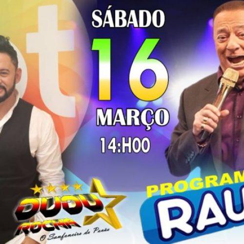 Cantor da região de Picos se apresenta nesse sábado (16) no programa Raul Gil