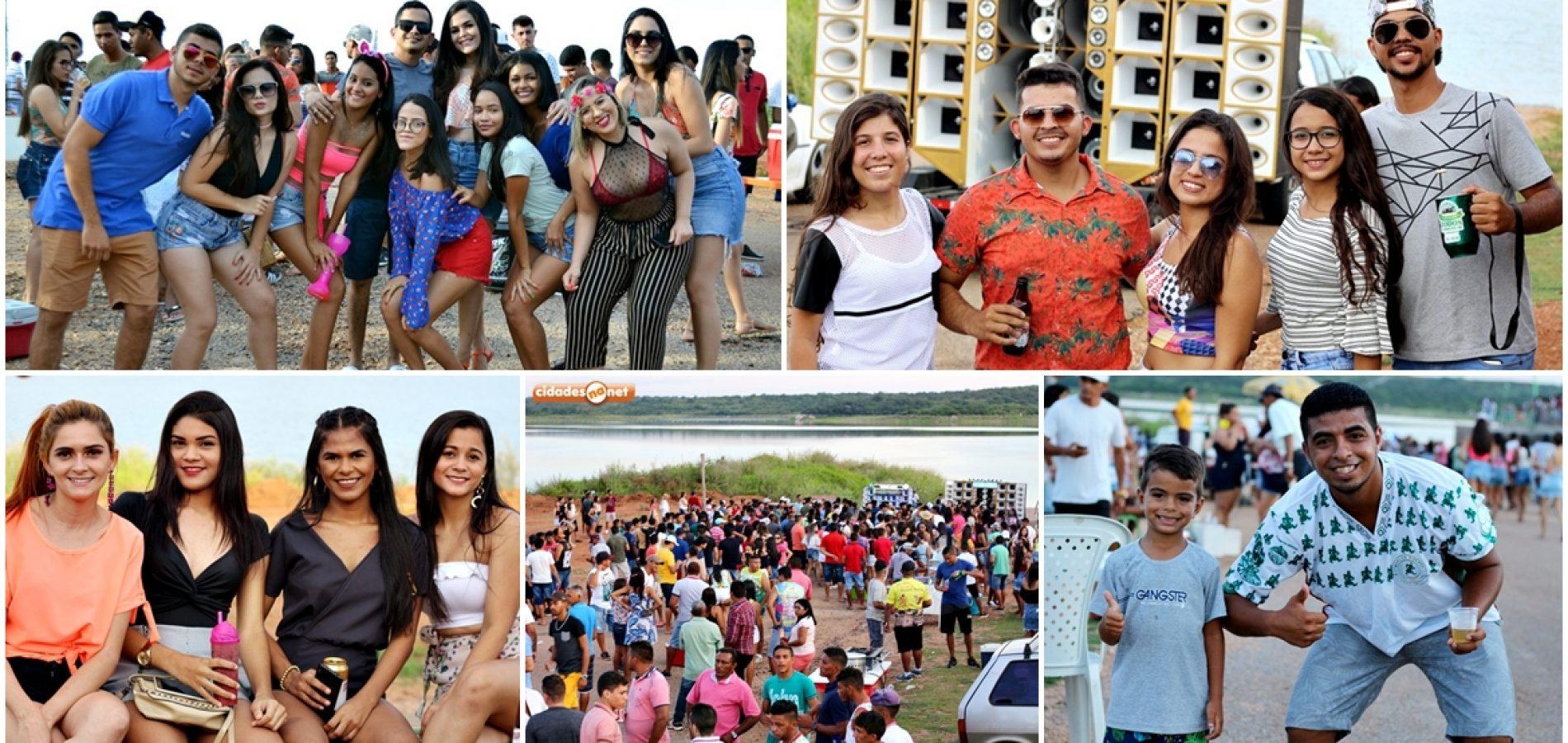Confira fotos do Encontro dos Blocos na barragem Poço de Marruás em Patos do Piauí
