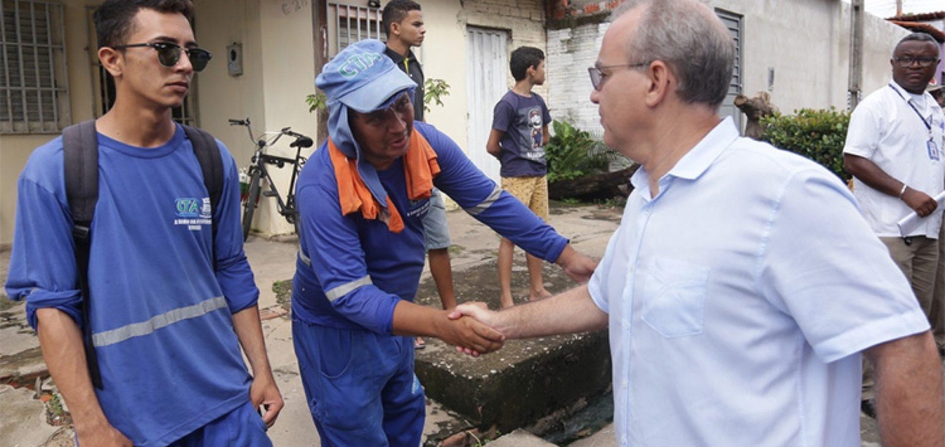 Em Teresina, prefeito Firmino participa de Faxina nos Bairros e destaca importância da limpeza