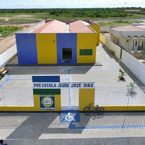 Prefeitura de Belém do Piauí qualifica espaços de ensino e constrói escola em 40 dias