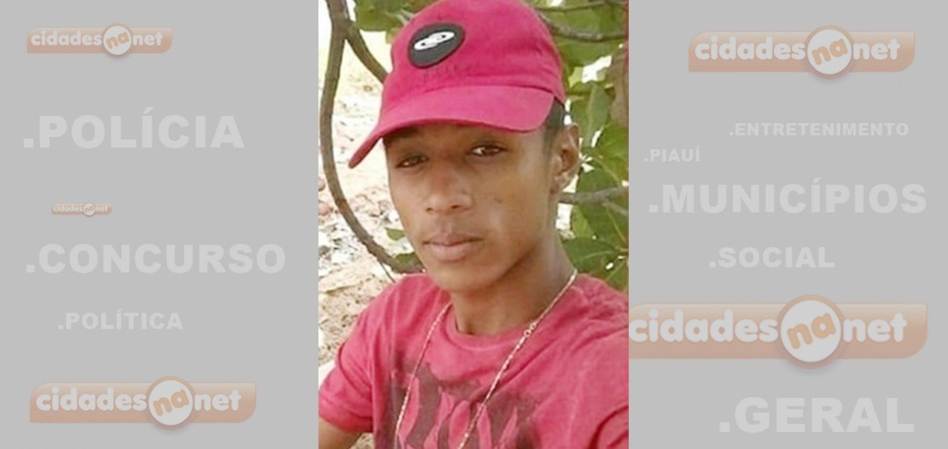 Jovem morre após ser atingido com tiro na cabeça e no peito em cidade do Piauí