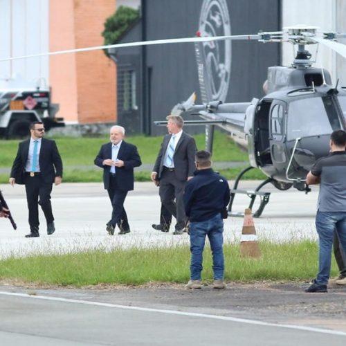 Lula chega em São Paulo para acompanhar velório do neto