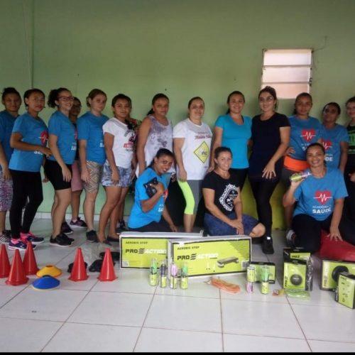 Prefeitura de Vera Mendes entreganovos materiais para academia de saúde