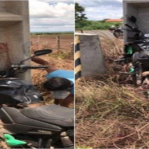 Homem morre ao colidir motocicleta em poste no Piauí