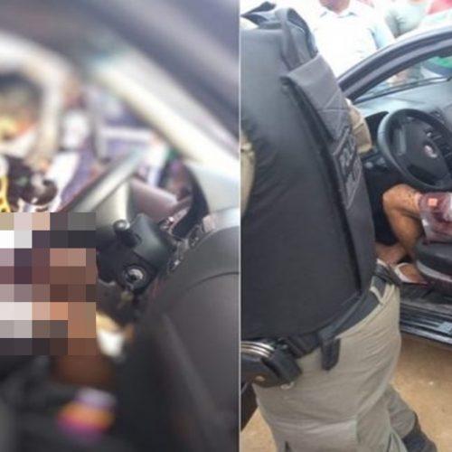 Morre motorista de app que foi encontrado ferido dentro de carro no Piauí