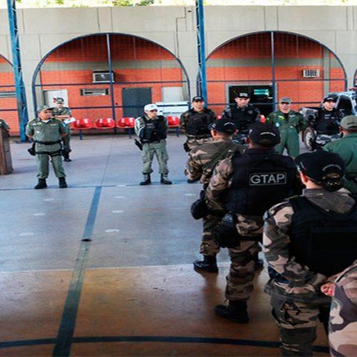 Segurança reforçará policiamento nos municípios; tropas enviadas nesta sexta