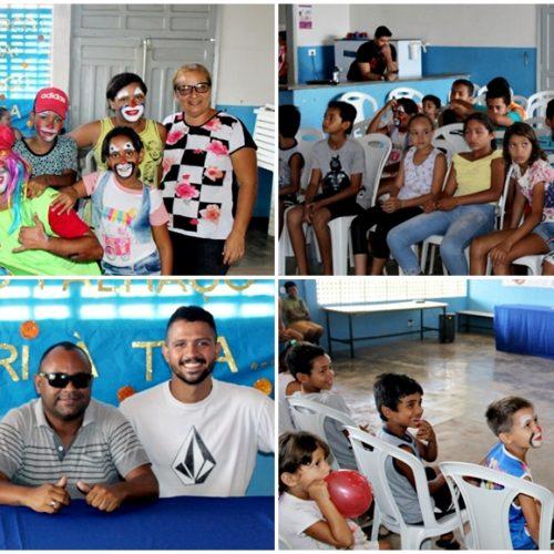 INHUMA   Secretaria de Trabalho e Ação Comunitária promove oficina de Circo com alunos do SCFV