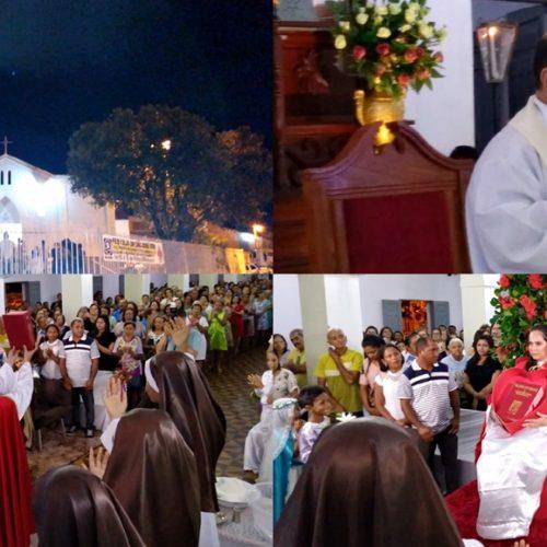 INHUMA   Católicos celebram a 7ª noite de missa dos festejos de São José