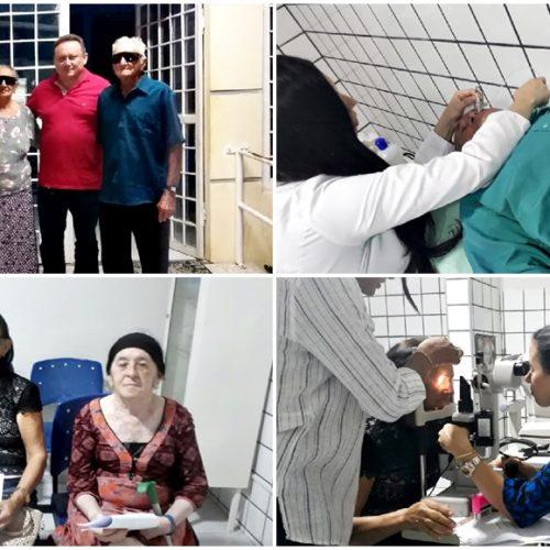 Com apoio da Prefeitura de Vila Nova, pacientes com catarata são operados durante Mutirão em Picos