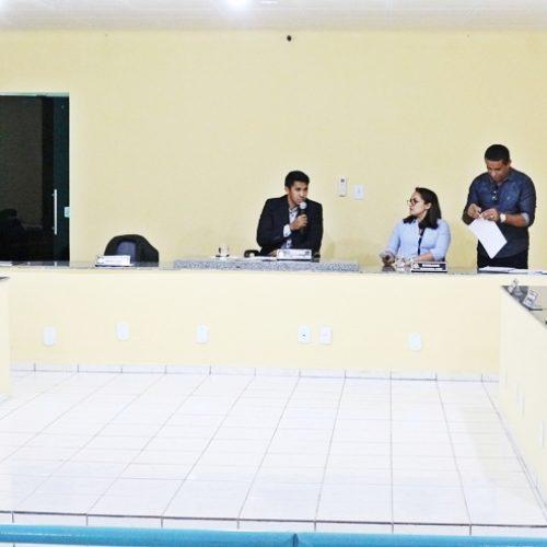 Divulgada pauta da sessão desta sexta (10) da Câmara de Belém do Piauí; confira