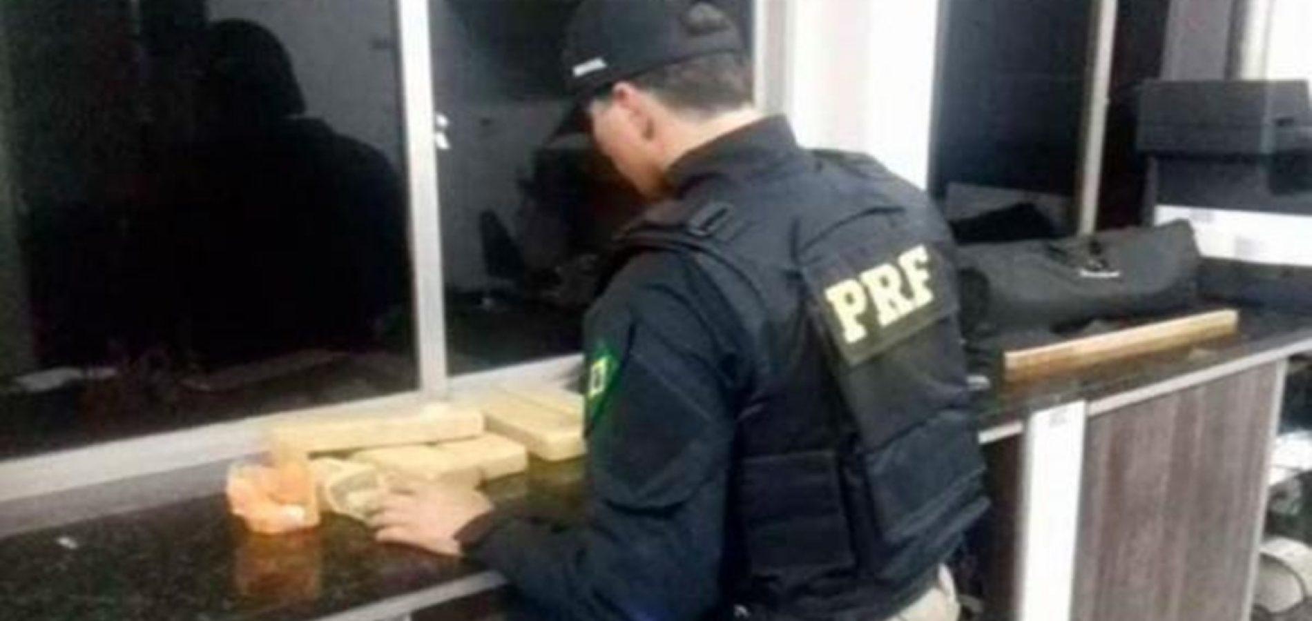 Preso homem que transportava drogas de Brasília para o Piauí