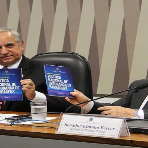 Elmano Férrer lança relatório final sobre Política de Segurança de Barragens
