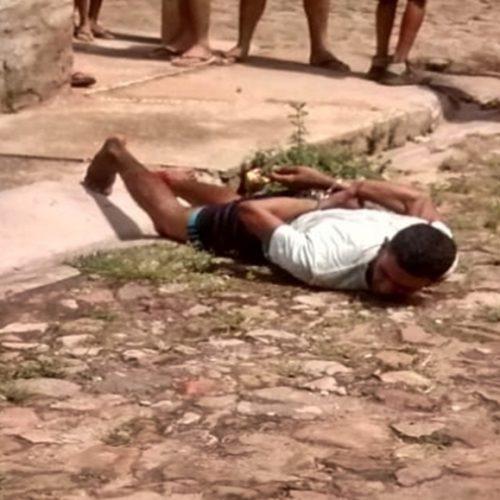 Suspeito tenta roubar moto de estudantes e acaba preso no Piauí