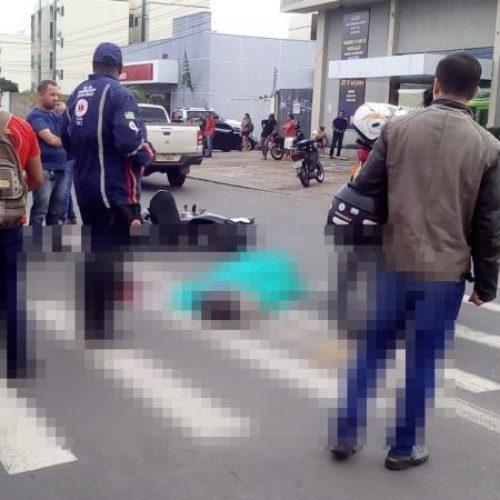 Mulher tem cabeça esmagada após ser atropelada em Teresina