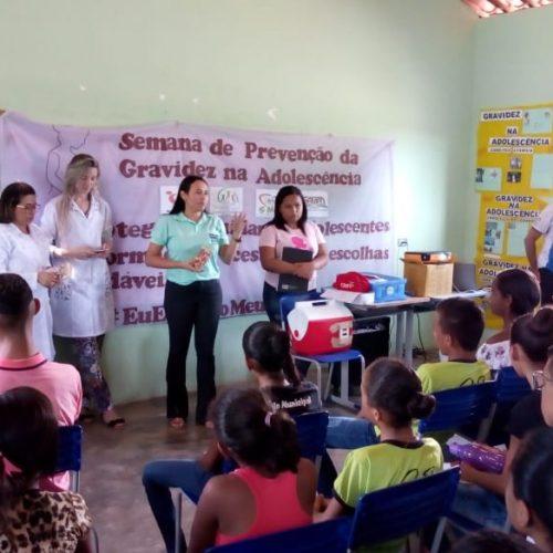 Vera Mendes promove Semana de Prevenção da Gravidez na Adolescência