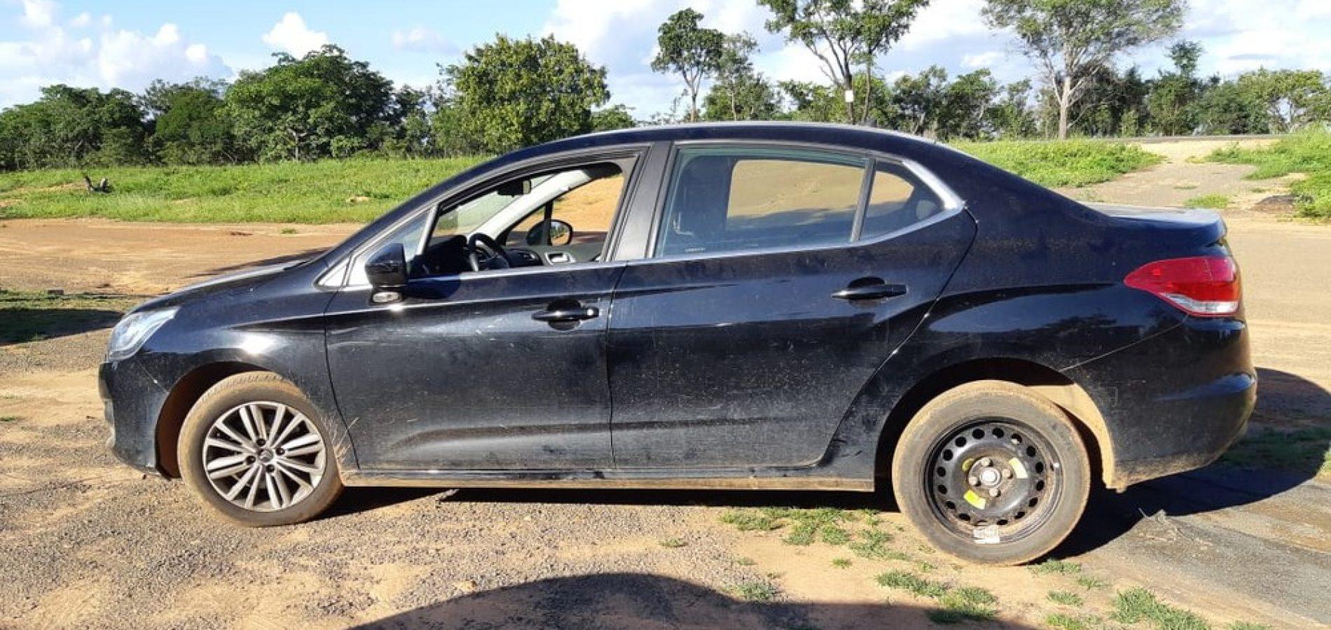 PRF recupera veículo que estava desaparecido desde outubro do ano passado