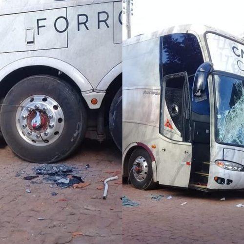 Cantor que teve ônibus depredado no PI diz ter ficado em estado de choque