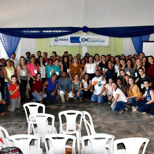 Inhuma discute saúde pública em 9ª Conferência Municipal; veja fotos