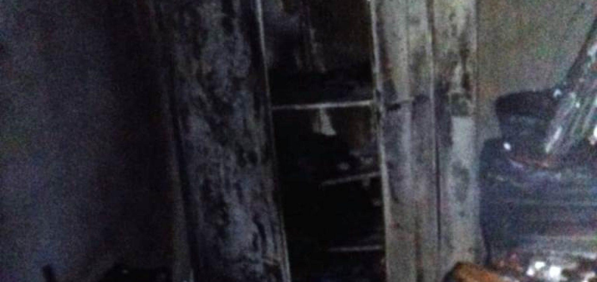 Escola da rede pública pega fogo em Picos e deixa prejuízos à comunidade
