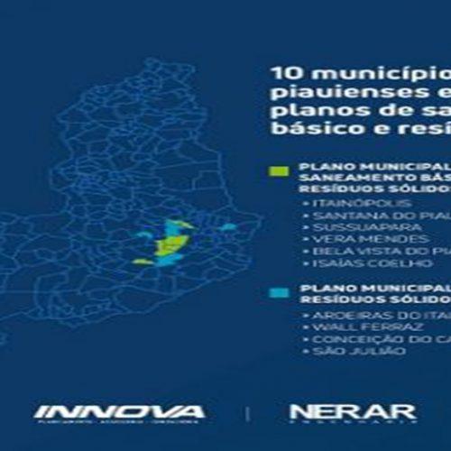 10 municípios piauienses elaboraram Planos de Saneamento Básico e de Resíduos Sólidos