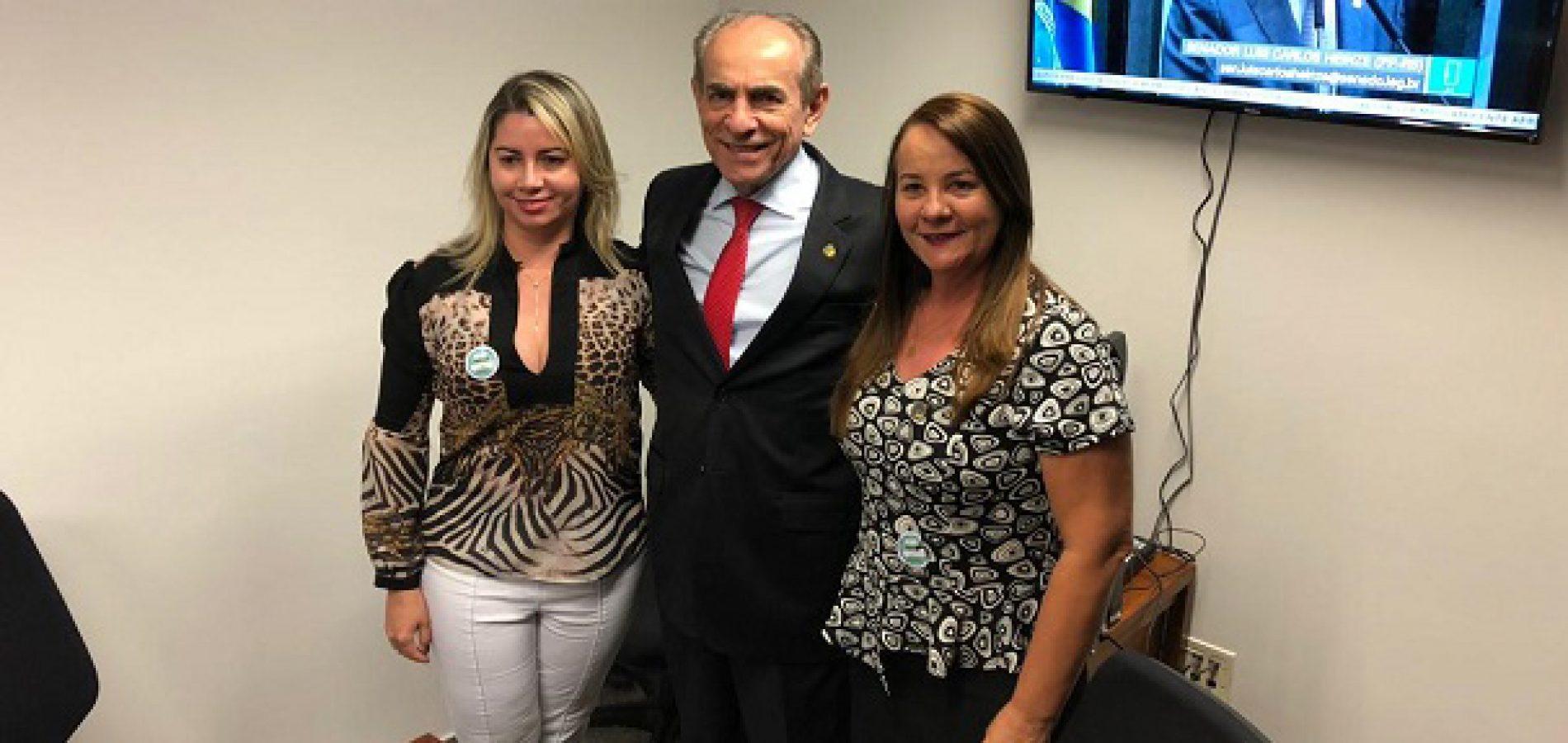 SANTANA | Prefeita Maria José se reúne com Marcelo Castro e reivindica recuperação da PI-375