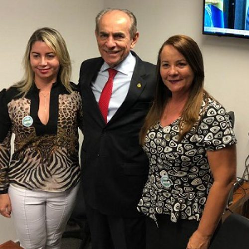 SANTANA   Prefeita Maria José se reúne com Marcelo Castro e reivindica recuperação da PI-375