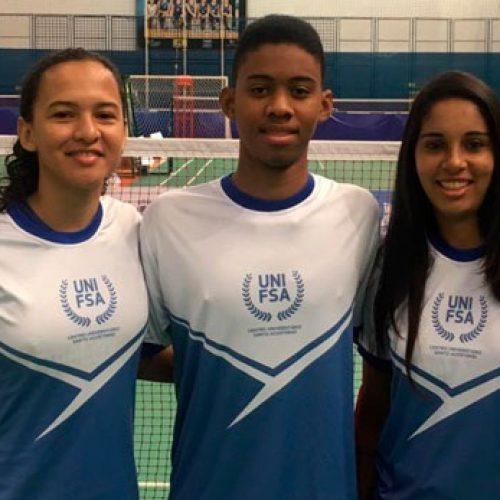 Badminton do Piauí conquista duas medalhas nos Jogos Universitários Brasileiros