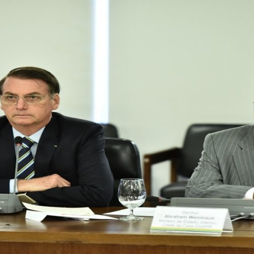 Bolsonaro dá posse a Abraham Weintraub como novo ministro da Educação