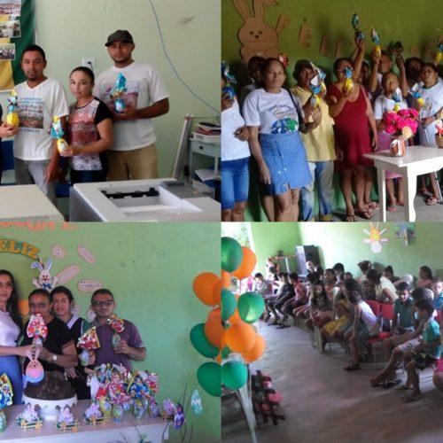 VERA MENDES   Secretarias de Saúde e Assistência Social promovem ações em comemoração à Páscoa
