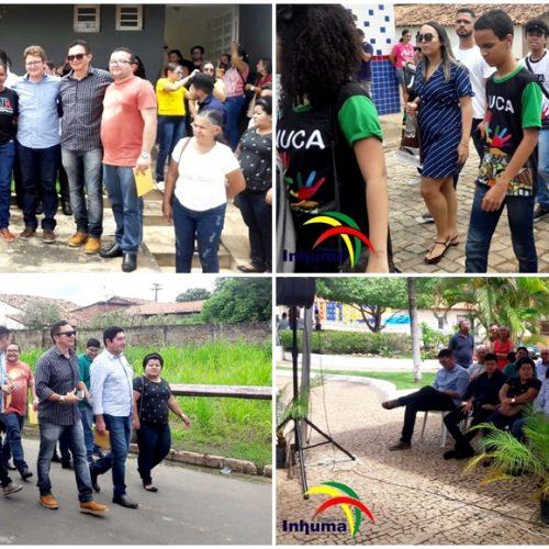 NUCA de Inhuma participa da 1ª Assembleia Territorial da Juventude em Francinópolis