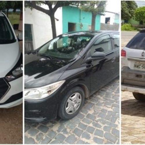Operação da PRF recupera quatro veículos em Monsenhor Hipólito
