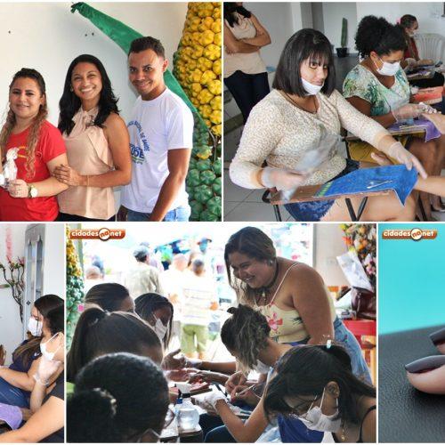 Secretaria de Cultura de Jaicós promove curso de manicure e pedicure