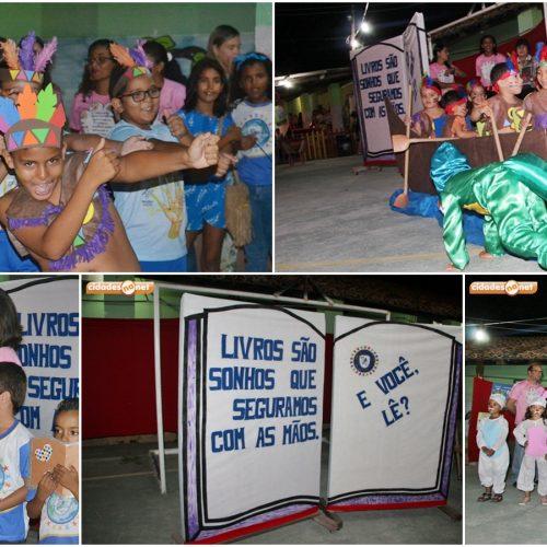 JAICÓS | Em evento com diversas apresentações, Escolinha Pequeno Polegar comemora Dia do Livro
