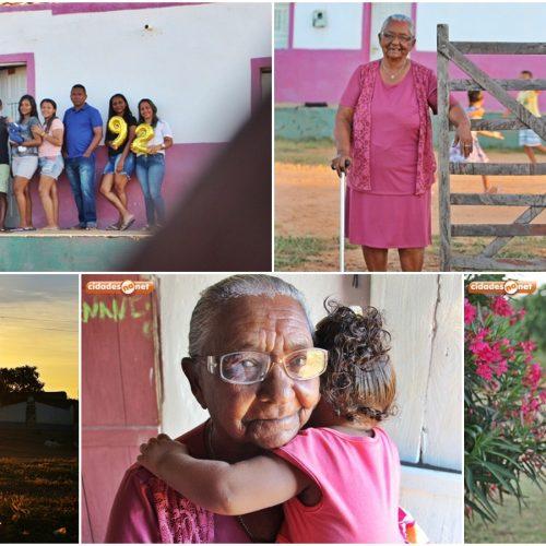 Idosa de 92 anos, que teve 13 filhos, é a protagonista do Clicks do Mês de abril; Confira história e fotos!