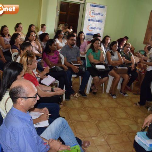 Profissionais da Educação e Comandante do 4º BPM se reúnem parar tratar de segurança nas escolas de Picos