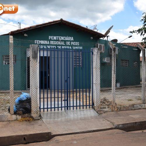 Detentas em Picos recebem vacina contra Influenza nesta terça (23)