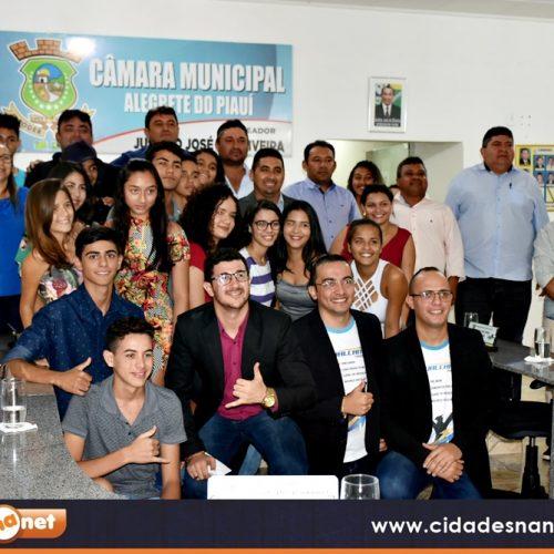 Em Alegrete, vereador Mateus Vicente lança projeto de Curso preparatório gratuito para o Enem 2019