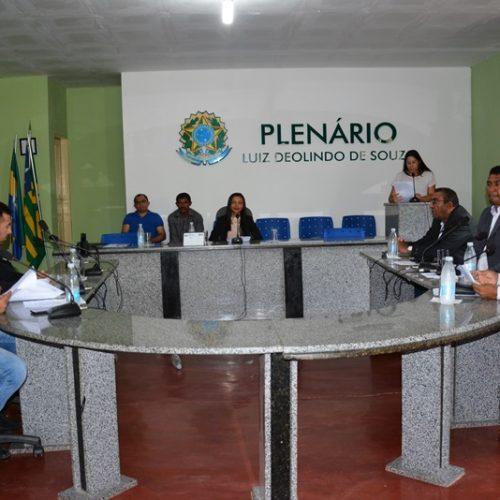 Requerimento é aprovado e três projetos são apresentados em sessão da Câmara de Patos do PI