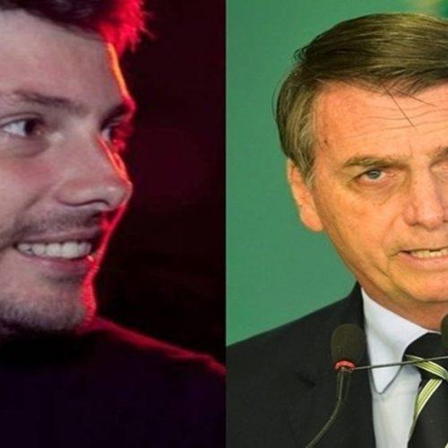 Bolsonaro toma atitude após Danilo ser condenado à prisão e humorista agradece muito