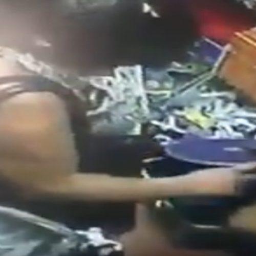 Vídeo: Mulher é flagrada furtando dentro de loja em Picos