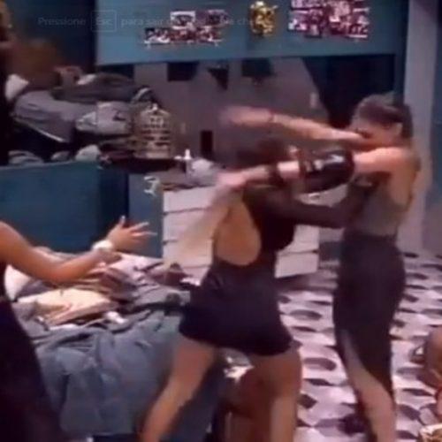 BBB19: após briga, Hariany empurra Paula com violência e expulsão pode ser cogitada; vídeo