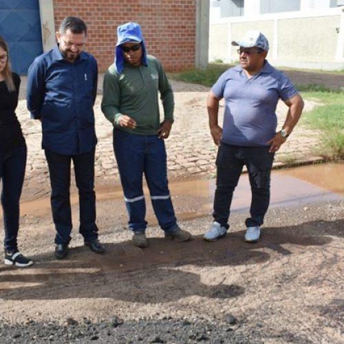 PICOS | Padre Walmir Lima acompanha obras em andamento na cidade