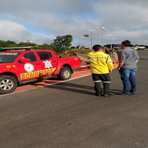 Após mais de 24 horas, bombeiros resgatam corpo de idoso no Rio Poti