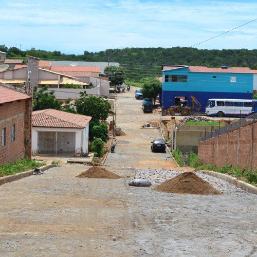 Prefeitura de Pio IX finaliza trabalhos de pavimentação na Rua Joaquim Melo