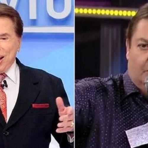 """Silvio Santos questiona salário de Faustão na TV Globo: """"Mentiroso"""""""