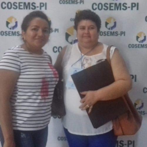 Secretária de Saúde de Curral Novo do Piauí participa de congresso em Teresina
