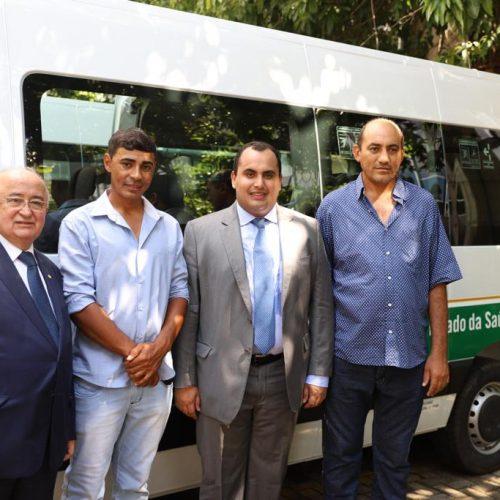 Curral Novo do Piauí recebe van e vai reforçar serviços na área da saúde