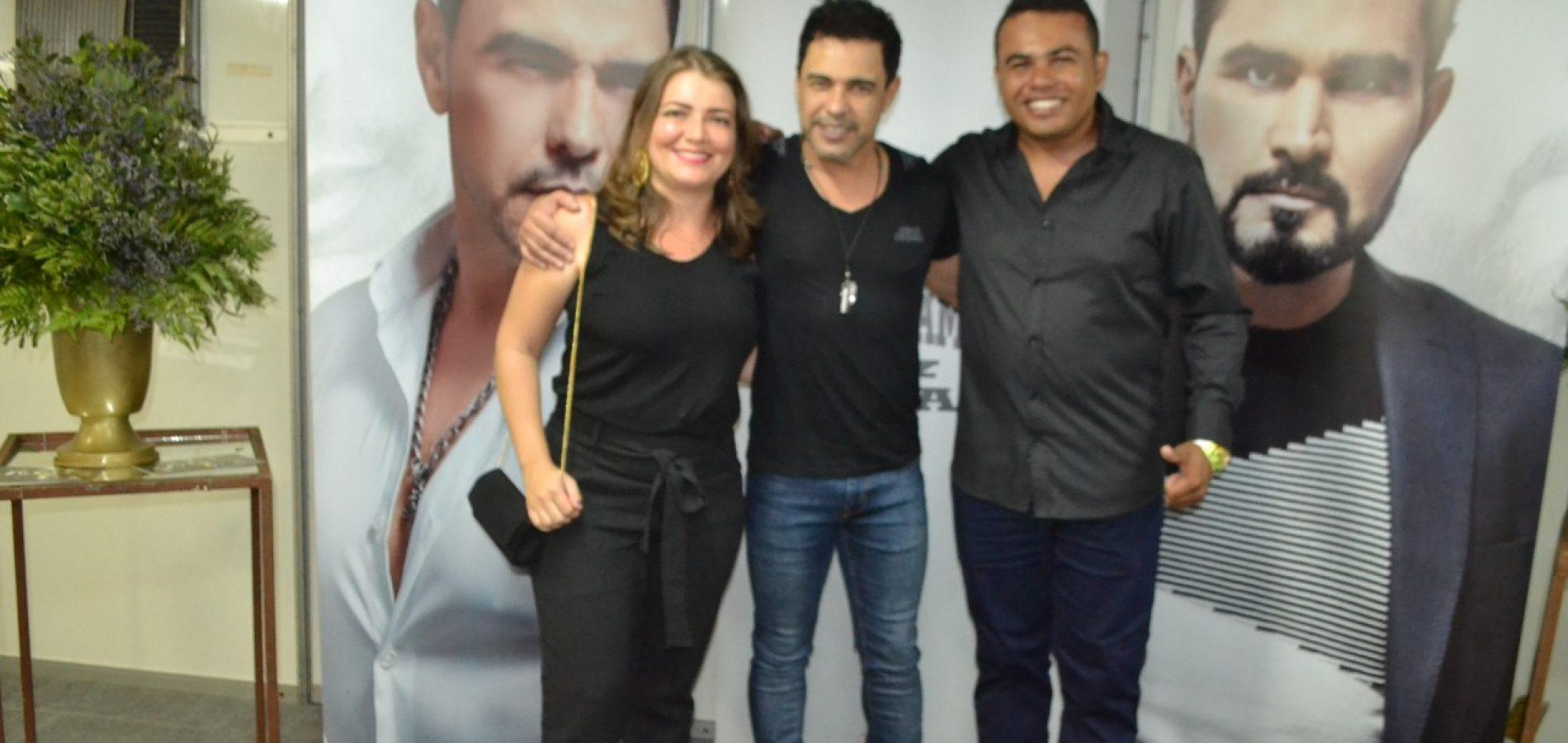 Cordial Cosméticos Picos promove encontro de consultores com Zezé Di Camargo